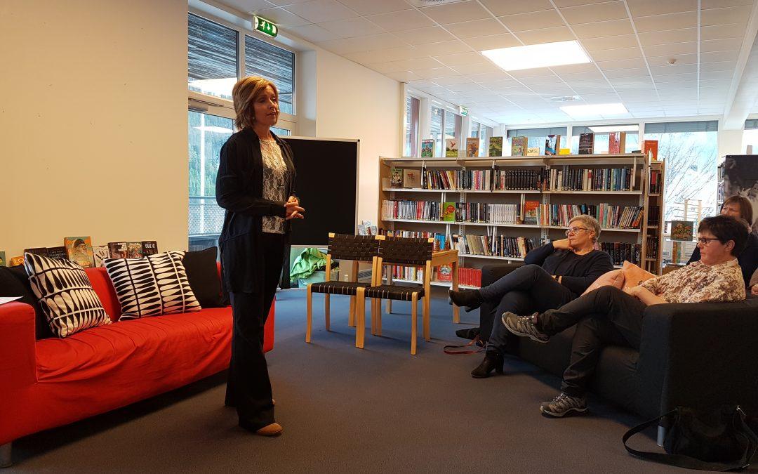 Hanne Kristin Rohde kom til Rødberg bibliotek