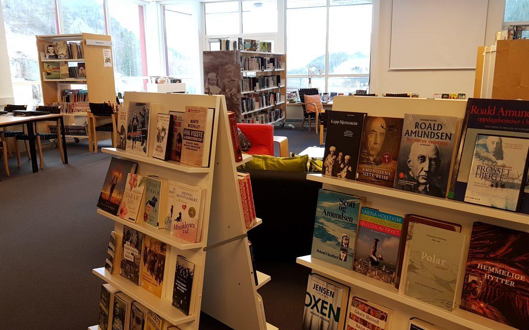 Lørdagskafe og lørdagsåpent bibliotek 2. mars