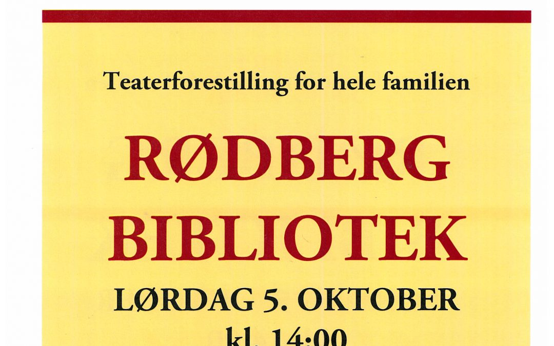 Teater i høstferien: Emil fra Lønneberget